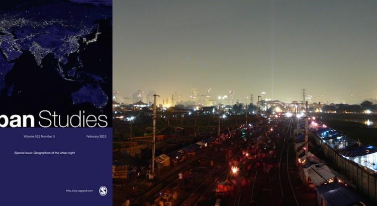 Jakarta night Bongkaran Tanah Abang